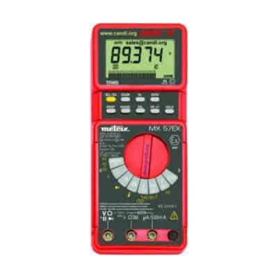 Digital Multimeter, Intrinsically Safe - AEMC MX57Ex