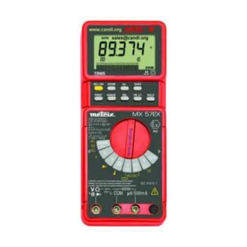 Digital Multimeter, Intrinsically Safe - AEMC MX57Ex
