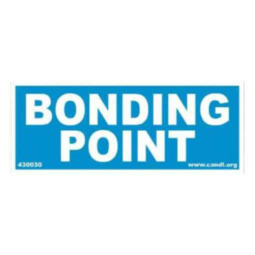 bonding point decal small