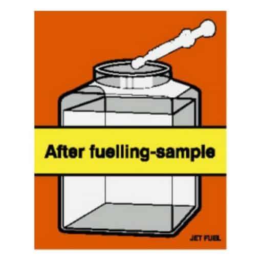 After Fuelling Sample JET