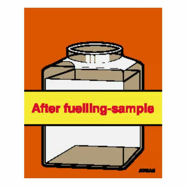 AVGAS After Fuelling Sample