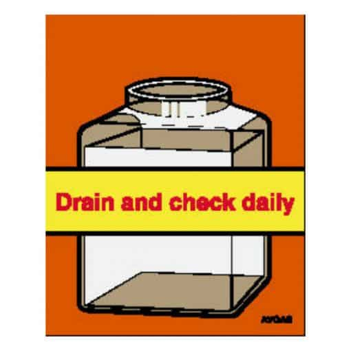 Drain Check Daily AVGAS