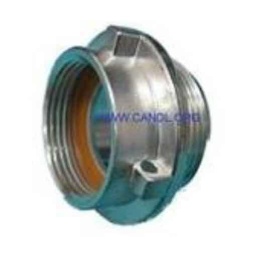 """threaded adaptor - 1.50"""" BSP M x 1.25"""" BSP F"""