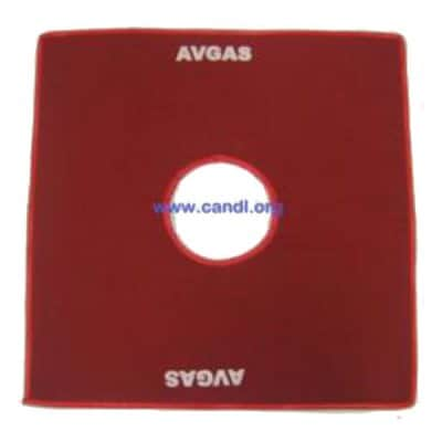 Wing Mat Red AVGAS