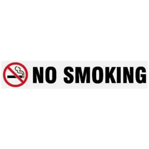 NO Smoking Long Sign