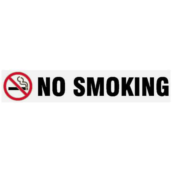 NO Smoking Long Sign