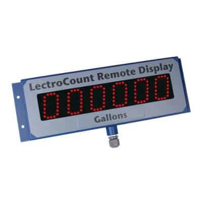 LectroCount XL LED Remote Display - Liquid Controls