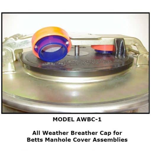 All Weather Breather Cap for Betts Manhole Cover Assemblies