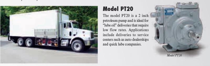 Model P20 PT-Series Petroleum Pump