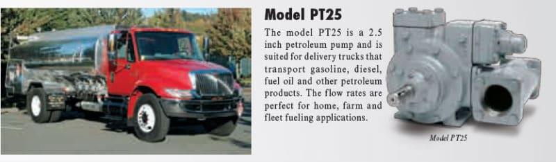 Model P25 PT-Series Petroleum Pump