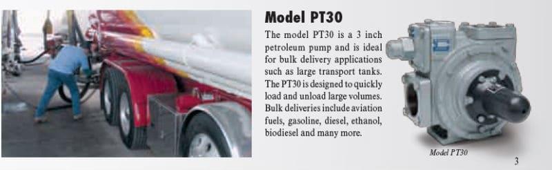 Model P30 PT-Series Petroleum Pump
