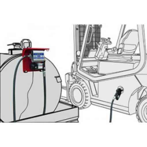 Hi Tech Dispensing Unit - Adam Pumps