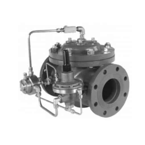 Model 119-5 Filter Separator Rate of Flow/Shut-Off Valve