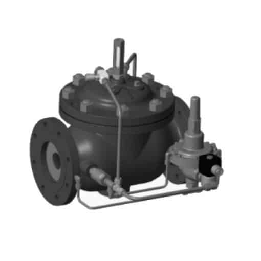 Model 120-16 Rate of Flow Control Valve with Shut-Off and Solenoid Check Feature