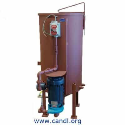 Sump Separator for Storage Tanks, with Pump - Gammon GTP-616B