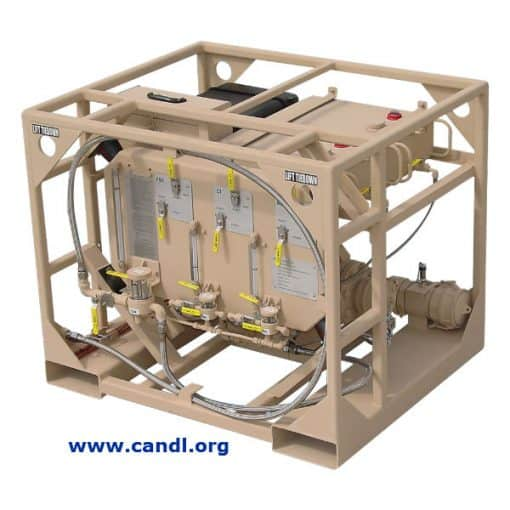 Multi Additive Injection Skid - Model TPI-6T-6A-1 - Hammonds