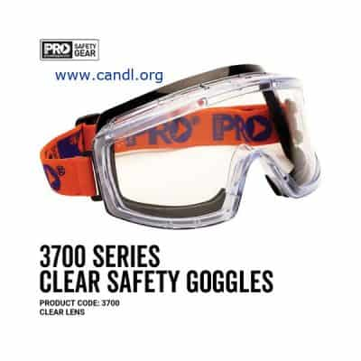 3700 Series Goggles Clear Lens - ProChoice® 3700
