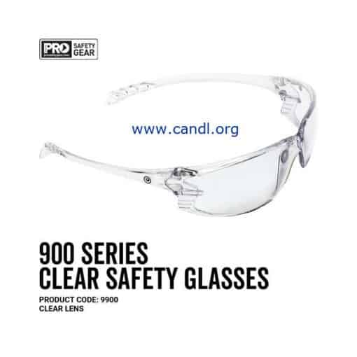 900 Series Safety Glasses Clear Lens - ProChoice® - 9900