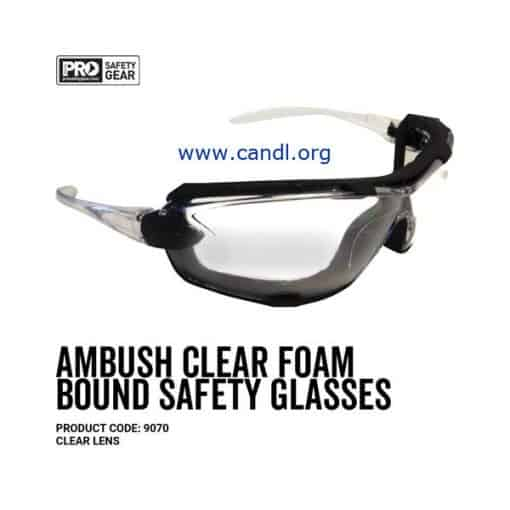 Ambush Foam Bound Goggle Clear or Smoke Lens - ProChoice® 9070