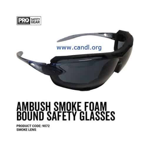 Ambush Foam Bound Goggle Clear or Smoke Lens - ProChoice® 9072