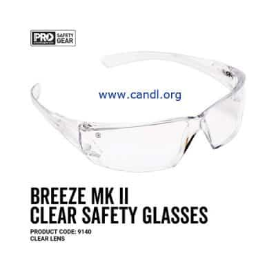 Breeze Markii Safety Glasses Clear Lens - ProChoice® - 9140