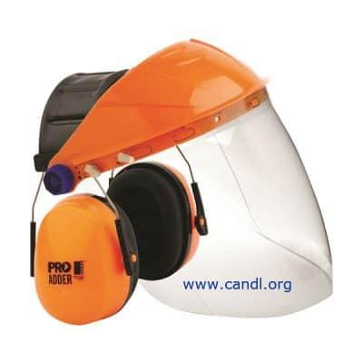 Browguard + Clear Visor + Adder Earmuff Combo - ProChoice