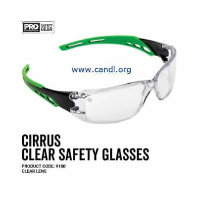 Cirrus Green Arms Safety Glasses - ProChoice® - 9180