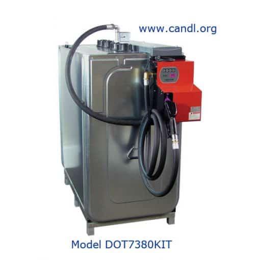Diesel Tank Transfer Pump Kit - STEM Australia