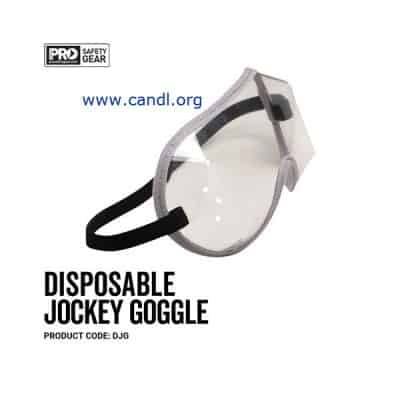 Disposable Jockey Goggle Clear - ProChoice® - DJG