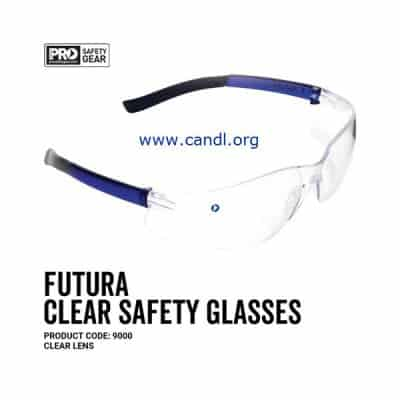 Futura Safety Glasses Clear Lens - ProChoice® - 9000