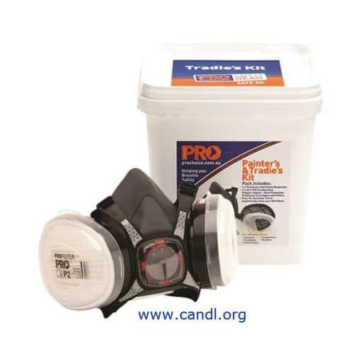 HMA1P2 - Assembled Half Mask With A1P2 Cartridges + Bucket