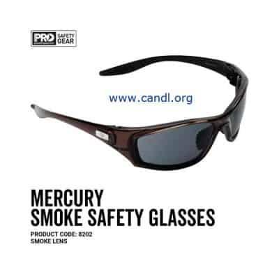 Mercury Safety Glasses Smoke Lens - ProChoice® - 8202