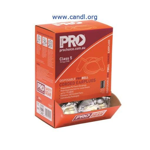 Probell Disposable Corded Earplugs - ProChoice® - EPYC