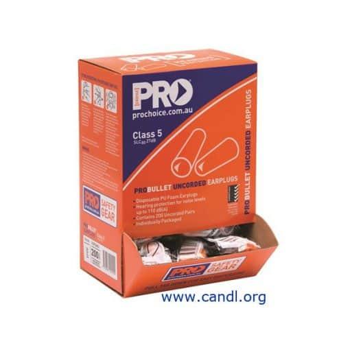 Probullet Disposable Uncorded Earplugs - ProChoice® - EPOU