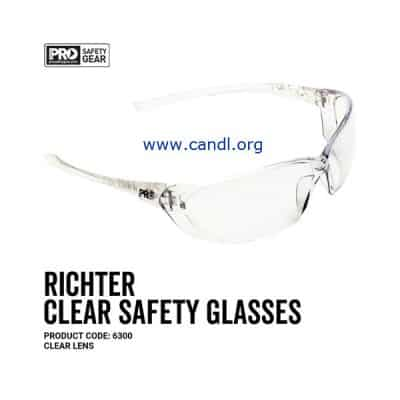 Richter Safety Glasses Clear Lens - ProChoice® - 6300