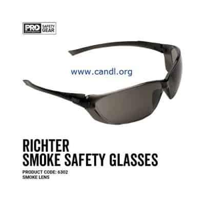 Richter Safety Glasses Smoke Lens - ProChoice® - 6302