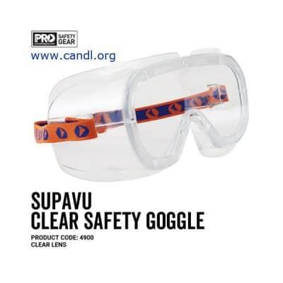 Supa-Vu Goggles Clear Lens - ProChoice® 4900
