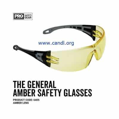 The General Safety Glasses Amber Lens - ProChoice® - 6405