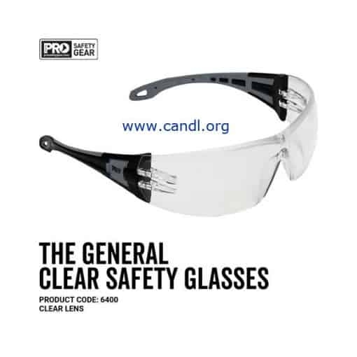 The General Safety Glasses Clear Lens - ProChoice® - 6400