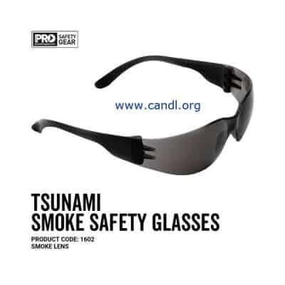 Tsunami Safety Glasses Smoke Lens - ProChoice® - 1602