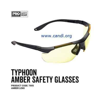 Typhoon Safety Glasses Amber Lens - ProChoice® - 7005