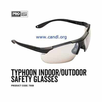 Typhoon Safety Glasses Indoor / Outdoor Lens - ProChoice® - 7008