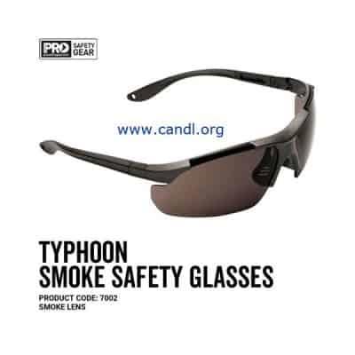 Typhoon Safety Glasses Smoke Lens - ProChoice® - 7002