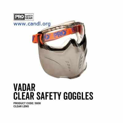 Vadar Goggle Shield Clear and Smoke Lens - ProChoice - 5000