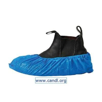 DSCB - Disposable Shoe Cover Blue PE