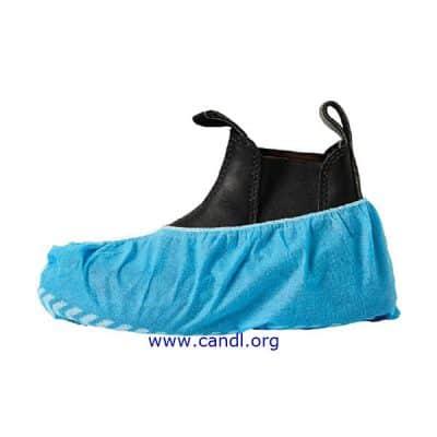 DSCNSB - Disposable Shoe Cover Non Slip Blue PP