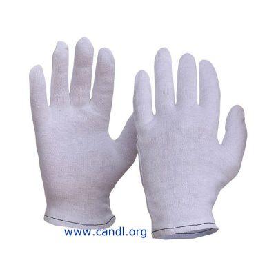 Interlock Poly/Cotton Lined Hemmed Cuff Gloves