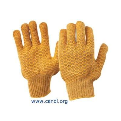 Brown Lattice Gloves - ProChoice® Safety Gear