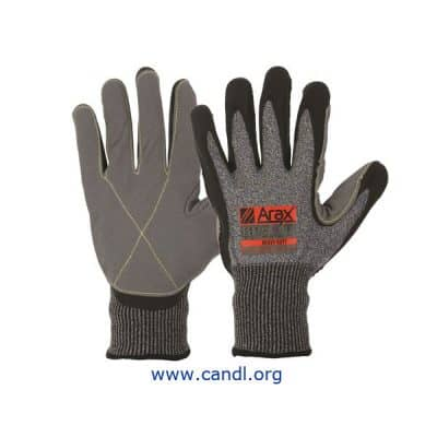 Arax® Ultra-Thin Foam Nitrile And Synthetic Leather Palm Gloves