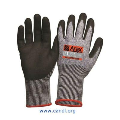 Arax® Nitrile Dip With Extended Cuff 30cm Glove